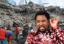 TB Joshua church building collapse