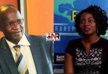 Jonathan Moyo and Adeola Fayehun