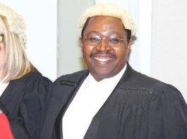 Former judge in Zimbabwe Justice Benjamin Paradza