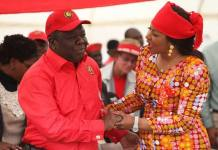 Morgan and Elizabeth Tsvangirai