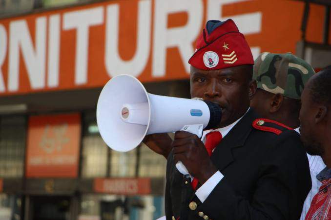 The demonstration, #MyZimbabwe, was organised by the MDC-T youth wing which says it is angered by increasing heavy-handedness of the police when dealing with protesters
