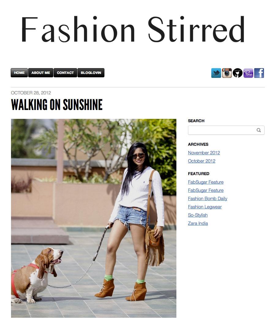 Fashion Stirred