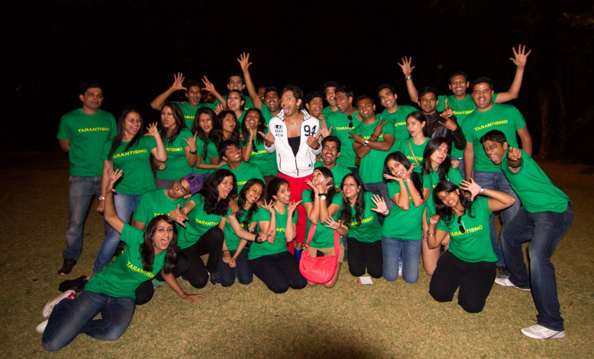 Terence Lewis master class in Bangalore