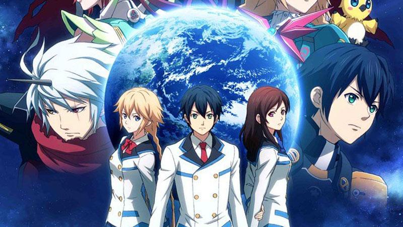 phantasy star anime