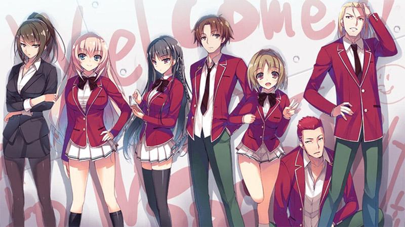 Penjualan LN Youkoso Jitsuryoku Shijou Shugi no Kyoushitsu e Terangkat Berkat Animenya!