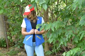 DIY Ash Pokemon Jacket Tutorial for Halloween