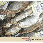 Vobla, Caspian Rock, Fish, Russian salt-dried fish, Russian food