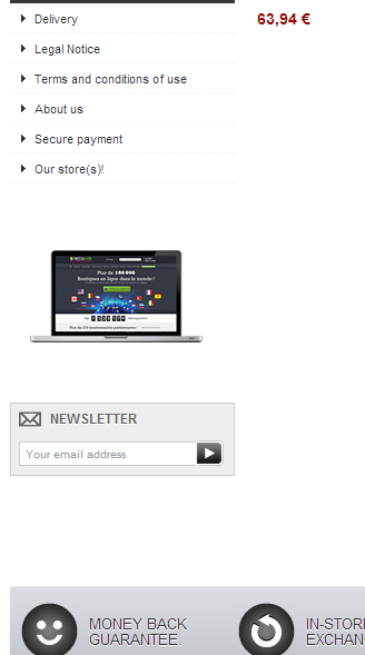 Prestashop Newsletter Block Module