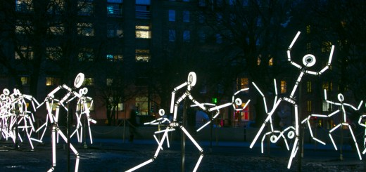 An invasion of stop-motion stick-figures will create a spectacle of light when a major installation makes its first appearance in Scotland tonight.  KEYFRAMES, delivered by Curated Place(external link)with French artists collective Groupe LAPS(external link), has been named a key event in the 2016 Year of Innovation, Architecture and Design. It will be exhibited within Edinburgh's St Andrew Square and will shine at night from 5pm on 4 February until 28 March 2016.  Light sculptures will shine in sequence to an original musical composition to create the illusion of movement. The installation, which has been conceived to create an immersive experience, will invite people to wander through St Andrew Square to experience the space from different angles and in a new light.  This is the first time KEYFRAMES will be exhibited in Scotland, following a UK debut in Durham at the 2013 Lumiere Festival and after delighting thousands of people across the world from Singapore to Jerusalem, France, Spain and the Netherlands.  The exhibition, which is free to view, is being funded by the City of Edinburgh Council and EventScotland with the support of Marketing Edinburgh and Essential Edinburgh.  Follow #EdinLights on social media to find out more.