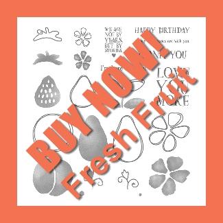 Fresh Fruit Stamp set Buy Now
