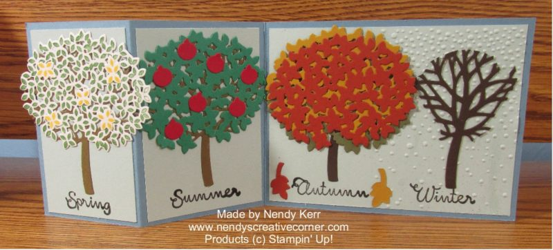 Thoughtful Branches Four Seasons Card