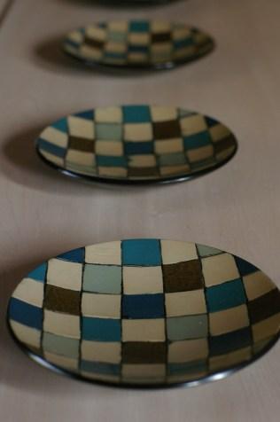 モザイク小皿