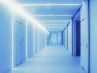 施設の通路 差分:青/ナチュラル/暗め