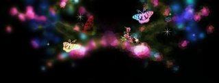 メルヘンチックな蝶(4パターン)