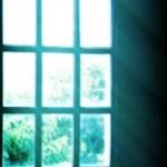 アーチ型の窓の写真素材