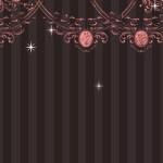 アンティーク風ガーリーな壁紙(5パターン)
