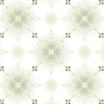 四葉のクローバーのような格子状の幾何学模様(4パターン)