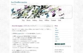 NF075-Les Feuilles mortes