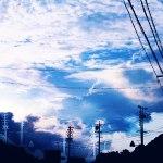 【高解像度】空と幻影(3パターン)