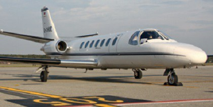 Медицинский самолет Cessna 560 Citation V