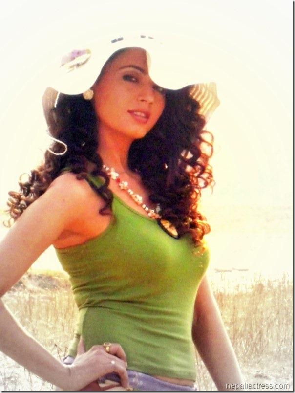 simpal khanal sexy looks