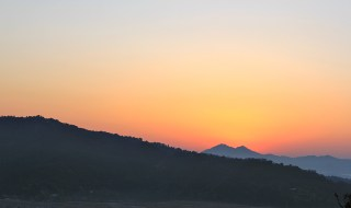 Beautiful Nepal Sunrise Volunteering in Nepal