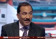 Kamal-Thapa-BBC-News Live