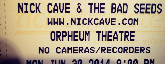Are you a Nick Cave & The Bad Seeds fan? A BIG Nick Cave fan? Well then we have one amazing opportunity for you! We are giving away a pair of FRONT […]