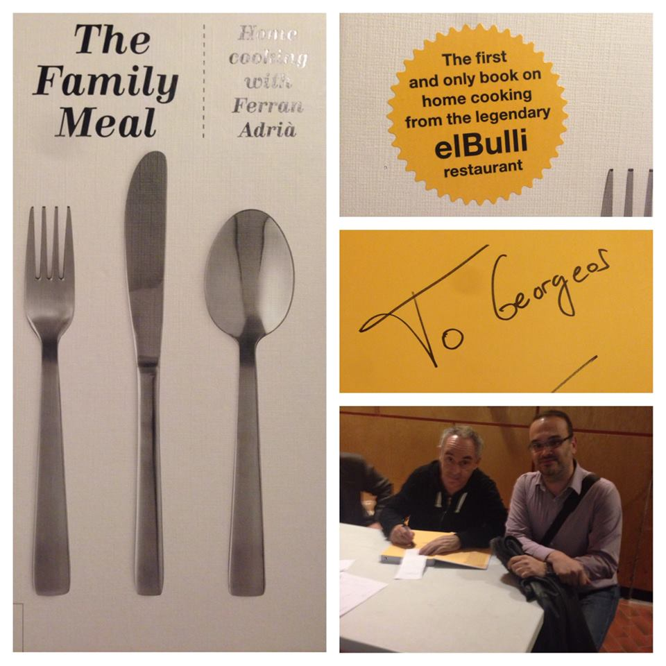 The Family Meal, Ferran Adria reviewed by NerdMeetsFood