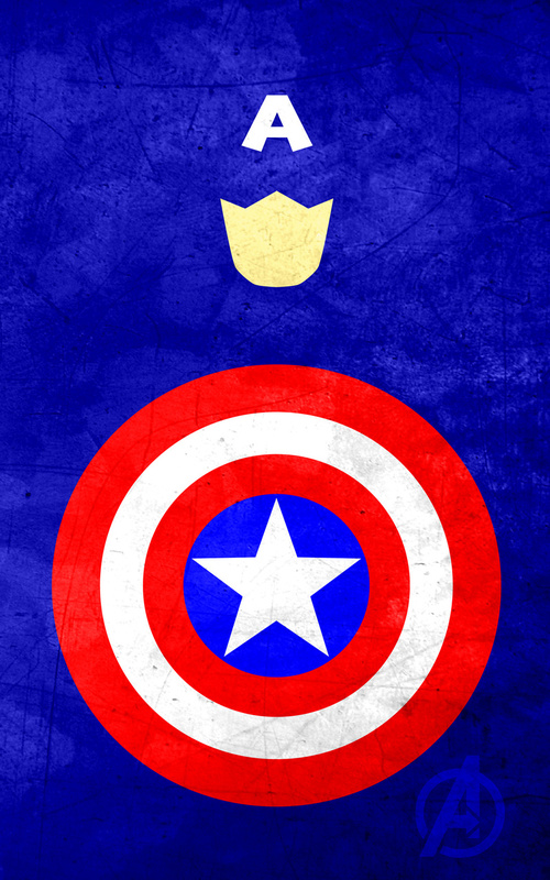 iPhone Wallpaper  – Os Vingadores capitão américa