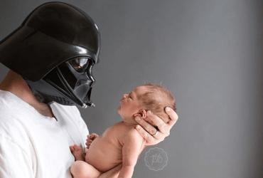 Pais nerds e seus Padawans recém-nascidos 01