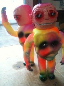 Grody Shogun 'Monster' - sherbet