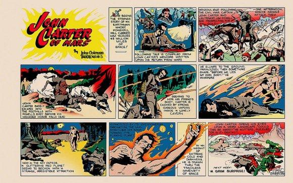 John Carter Comic Strip
