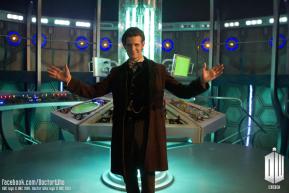 Doctor Who Matt Smith new TARDIS console room set