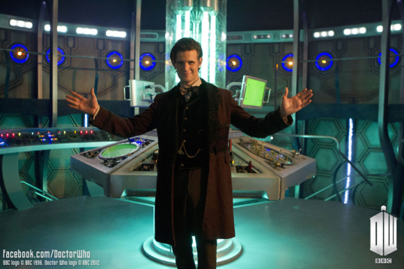 Doctor Who Matt Smith new TARDIS console room set
