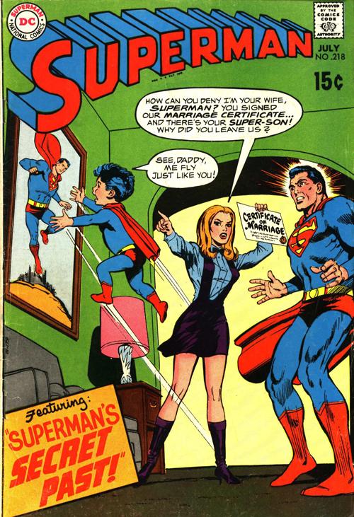 Superman #218 - July 1969