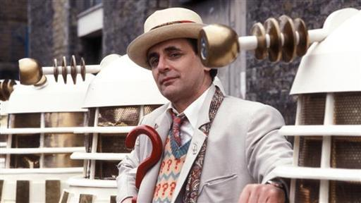 Sylvester McCoy as the Seventh Doctor in Doctor Who