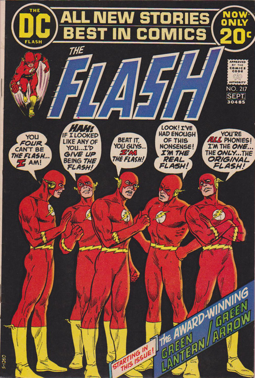 Flash #217 - September, 1972