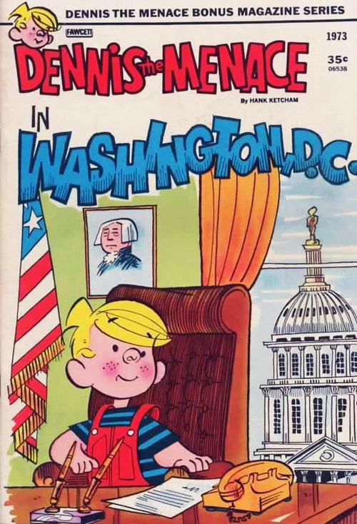Dennis the Menace in Washington, D.C.
