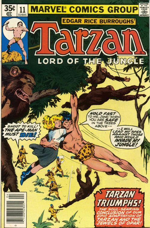 Tarzan #11 - April, 1978