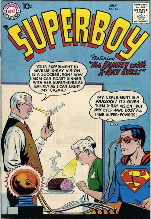 Superboy #66 - July, 1958
