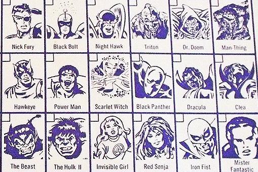 Marvel Slurpee Cups (1975)