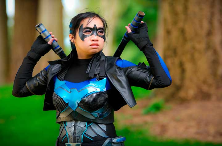 """Nightwing"" Netherjade Cosplay photography by Aaron Nanto for Women vs Cosplay"