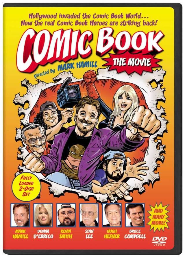 Movies You Should Be Watching: Comic Book the Movie @HamillHimself