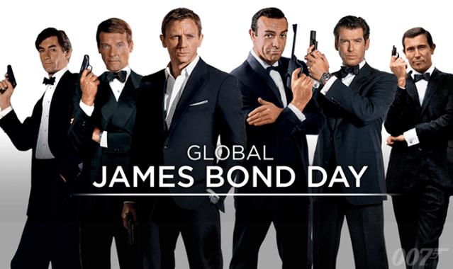 Let's Celebrate #GlobalJamesBondDay By Ranking All The Bond Songs! @007