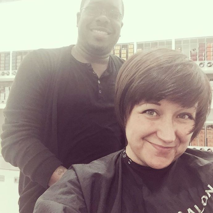 Vince at UltaOakPark chopped my hair and I LOVE it!hellip