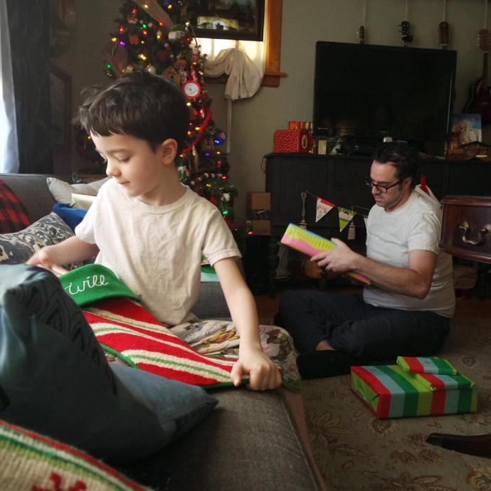 Mini amp fullsize fatherandson lifewithboys Christmas Christmas2015 MyGuys