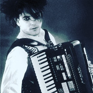 Motivation for thesavoyflea and makingitlovely gothaccordionFTW accordion robertsmith gothaccordion thecure