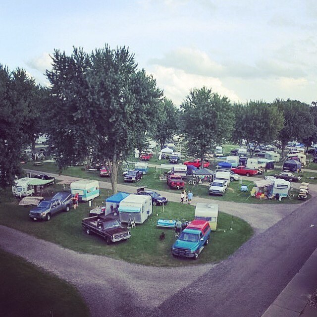 All the vintage campers dronephotography dronestagram aerialphoto At the Northernhellip