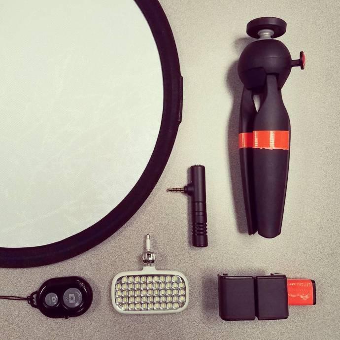 Funny obsession tiny photo gear I love the idea thathellip